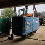 Rigging Genset into Site